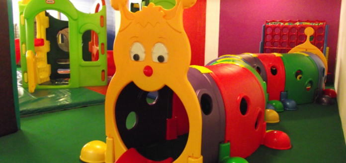 under 5's play area